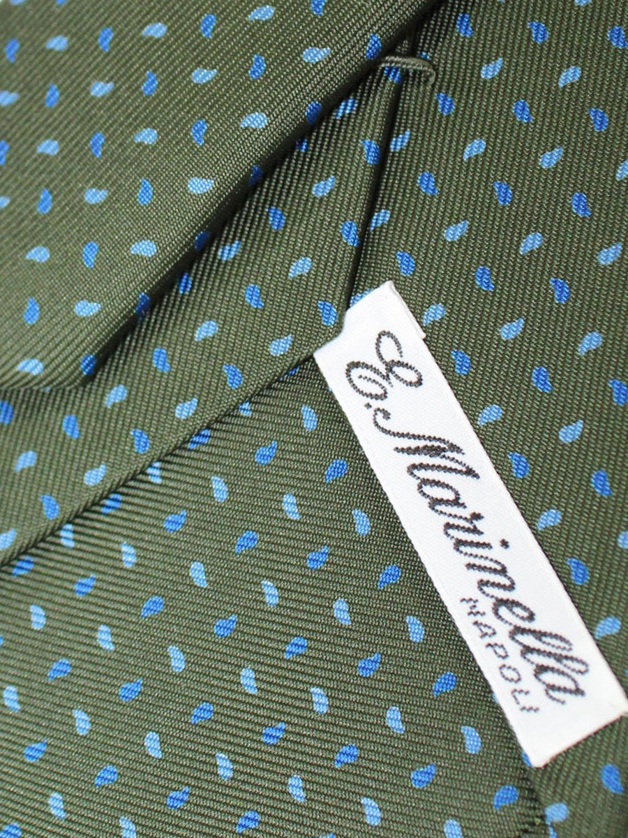 E. Marinella Tie Green Blue Royal Geometric - New Collection