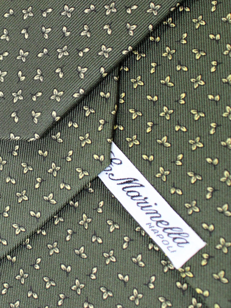 E. Marinella Tie Forest Green Floral - New Collection