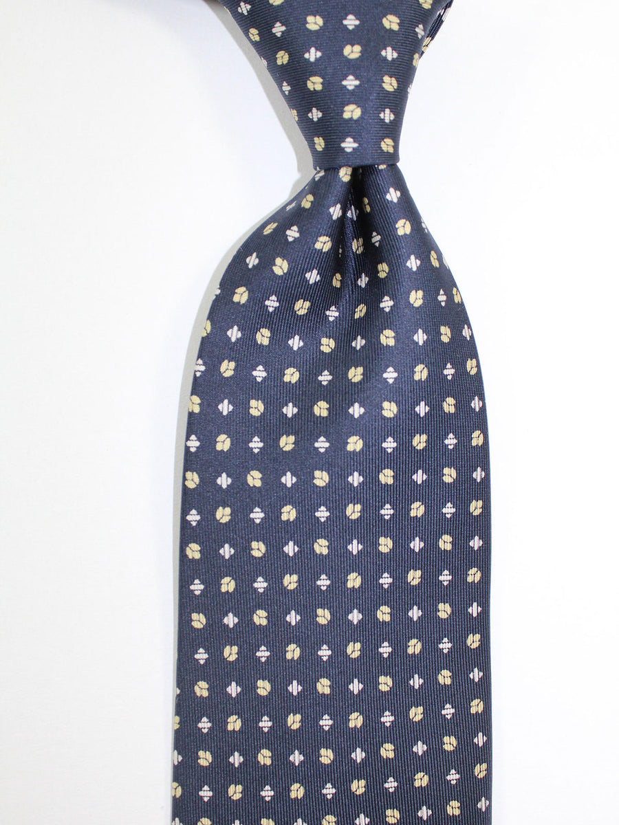 E. Marinella Tie Black Geometric