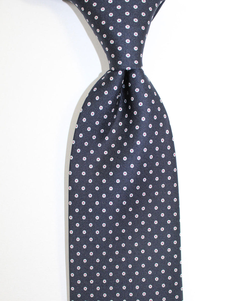 E. Marinella Tie Black Dots