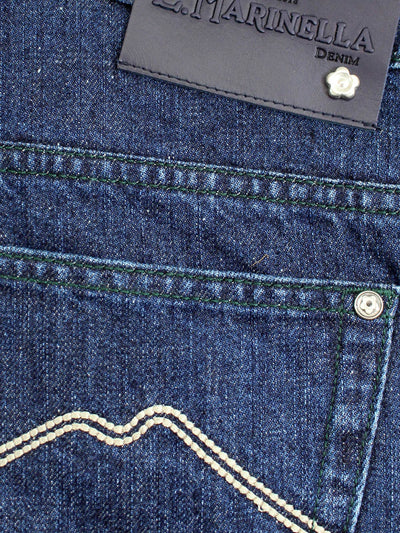 Marinella Jeans Dark Blue Denim Jeans
