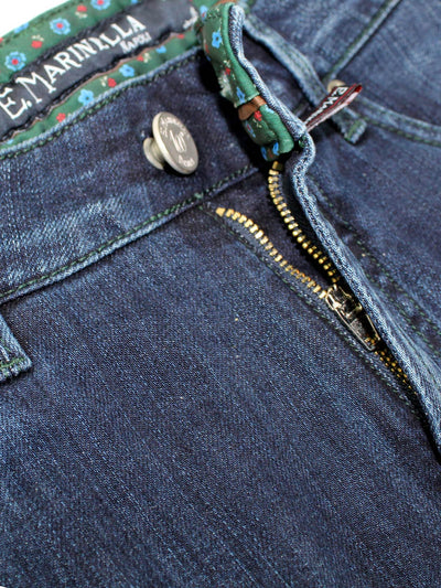 Marinella Jeans Dark Blue New