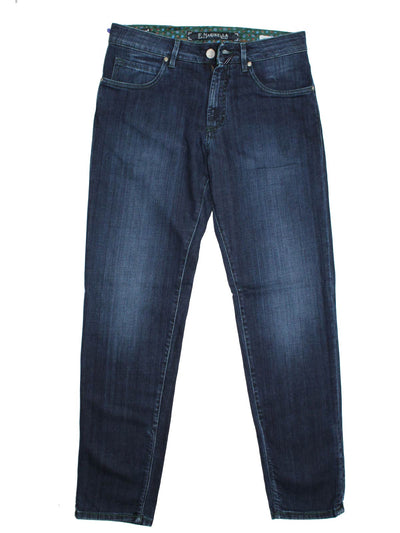 E. Marinella Jeans Dark Blue 33 Slim Fit Tokyo Zip Fly SALE