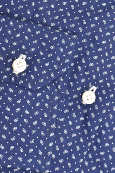 Hand Made Dress Shirt Navy