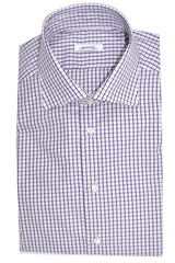Mattabisch Shirt Purple Grid