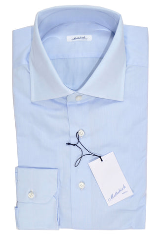 Mattabisch Napoli Shirt Solid Light Blue