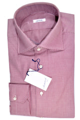 Mattabisch Napoli Dress Shirt Purple Mini Dots