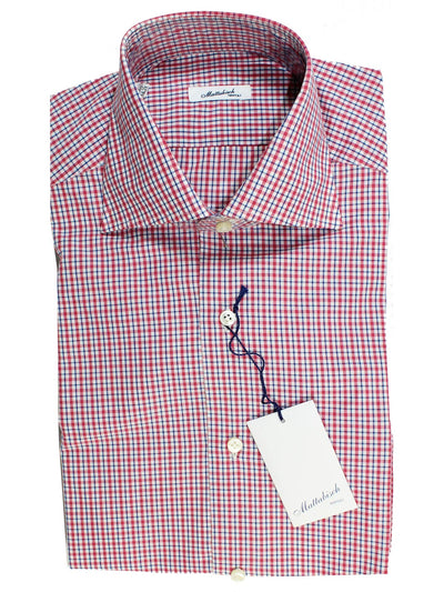 Mattabisch Dress Shirt White
