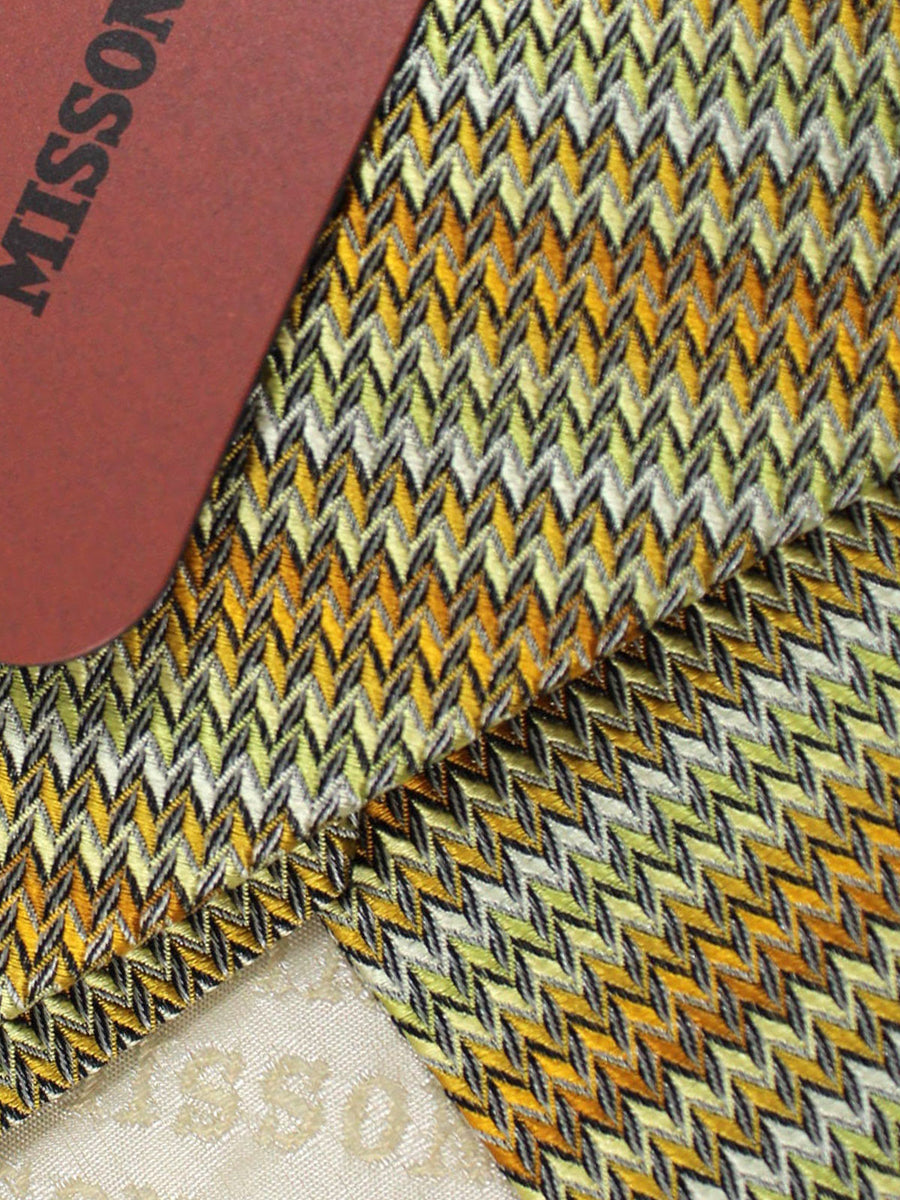 Missoni Tie Cream Lime Design