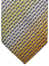 Missoni Tie Lapis Orange Gold Design