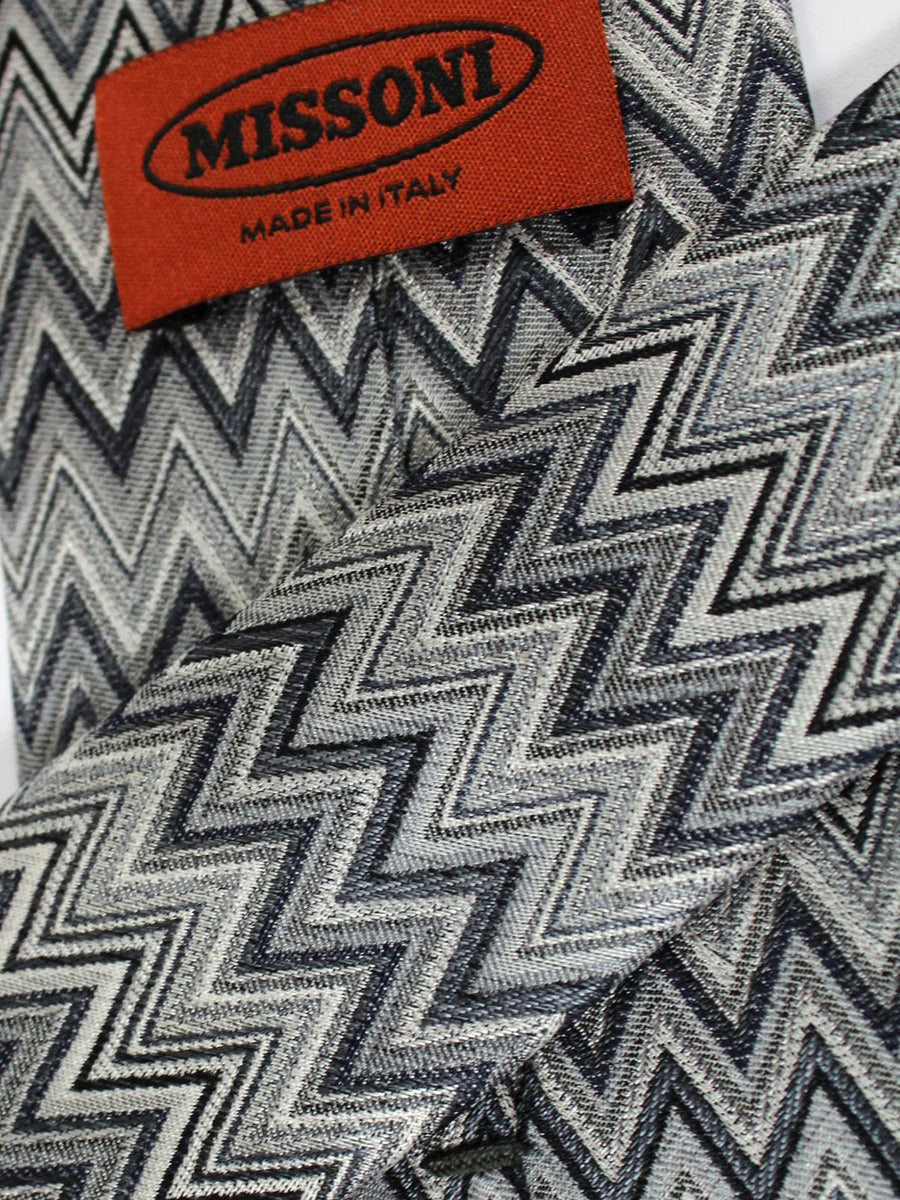 Missoni Tie Gray Design