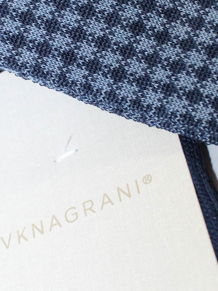 VK Nagrani Men Socks Blue Design