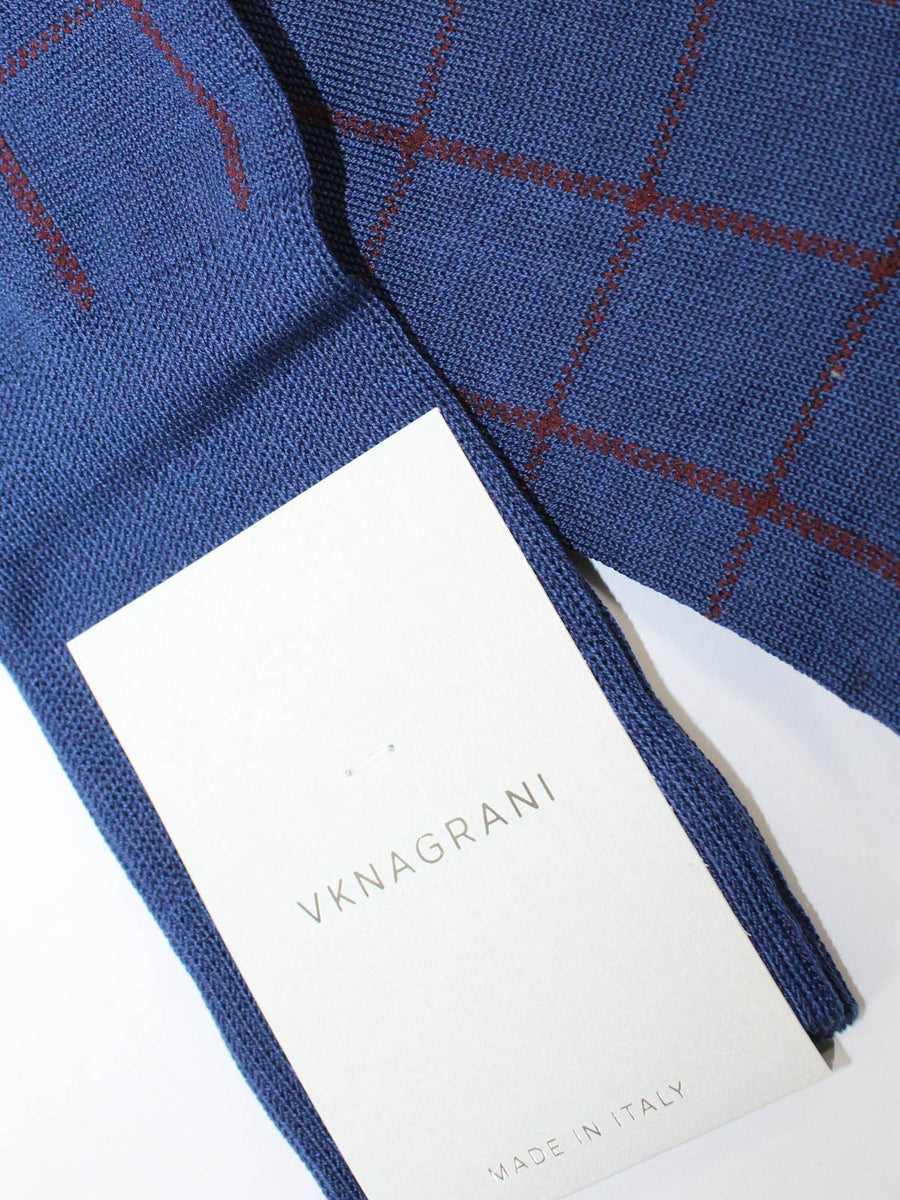 VK Nagrani Men Socks Royal Blue