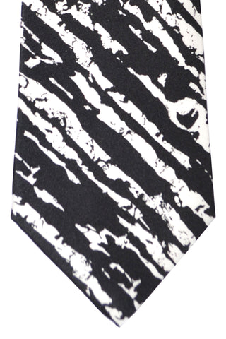 Vitaliano Pancaldi Tie Black White SALE