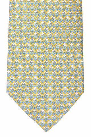 Salvatore Ferragamo Tie Yellow Bees
