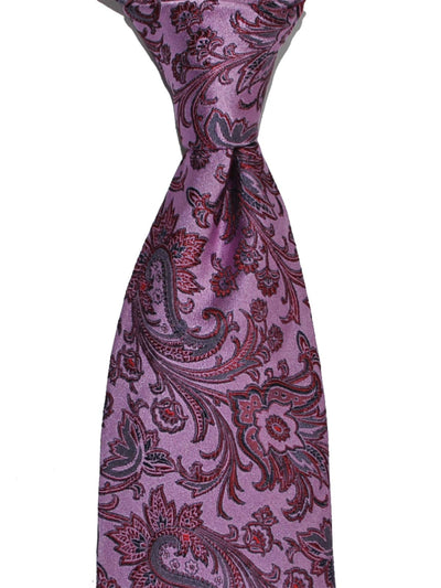 Thomas Pink Silk Tie Pink Purple FINAL SALE