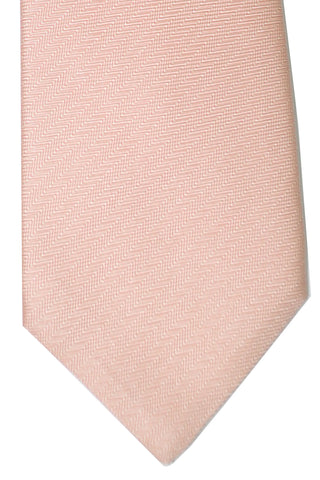Luigi Monaco Elevenfold Tie Pink Stripes 11 Fold FINAL SALE