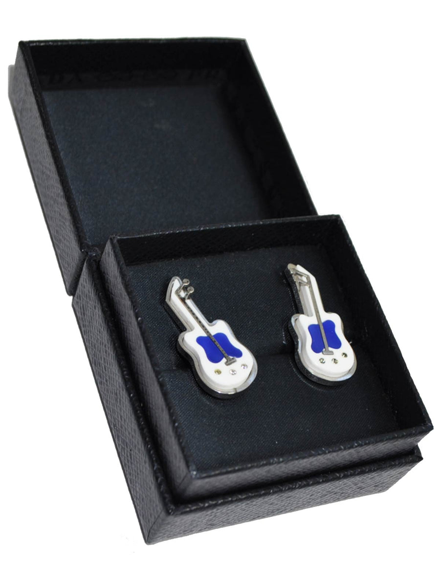 Prada Cufflinks Guitar Design