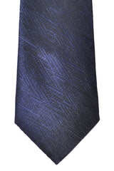 Prada Narrow Tie Navy Black