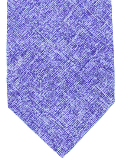 Isaia Tie Solid Purple Design