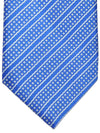 Stefano Ricci Tie Royal Blue Stripes Squares Design