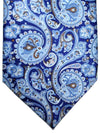 Stefano Ricci Tie Lapis Sky Blue Brown Ornamental Design