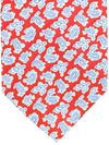 Stefano Ricci Tie Red Royal Blue Paisley - Wide Necktie