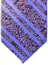 Stefano Ricci Tie Purple Ornamental Stripes