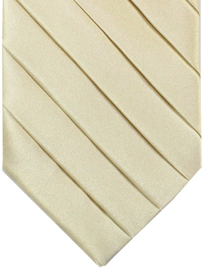 Stefano Ricci Tie Cream Solid Silk Design