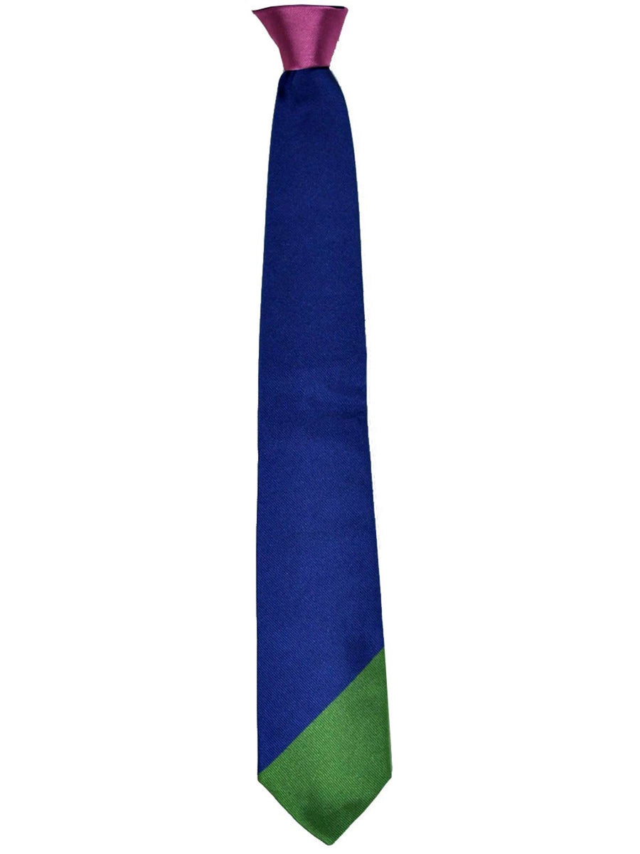 Gene Meyer Tie Royal Blue Pink Green SALE
