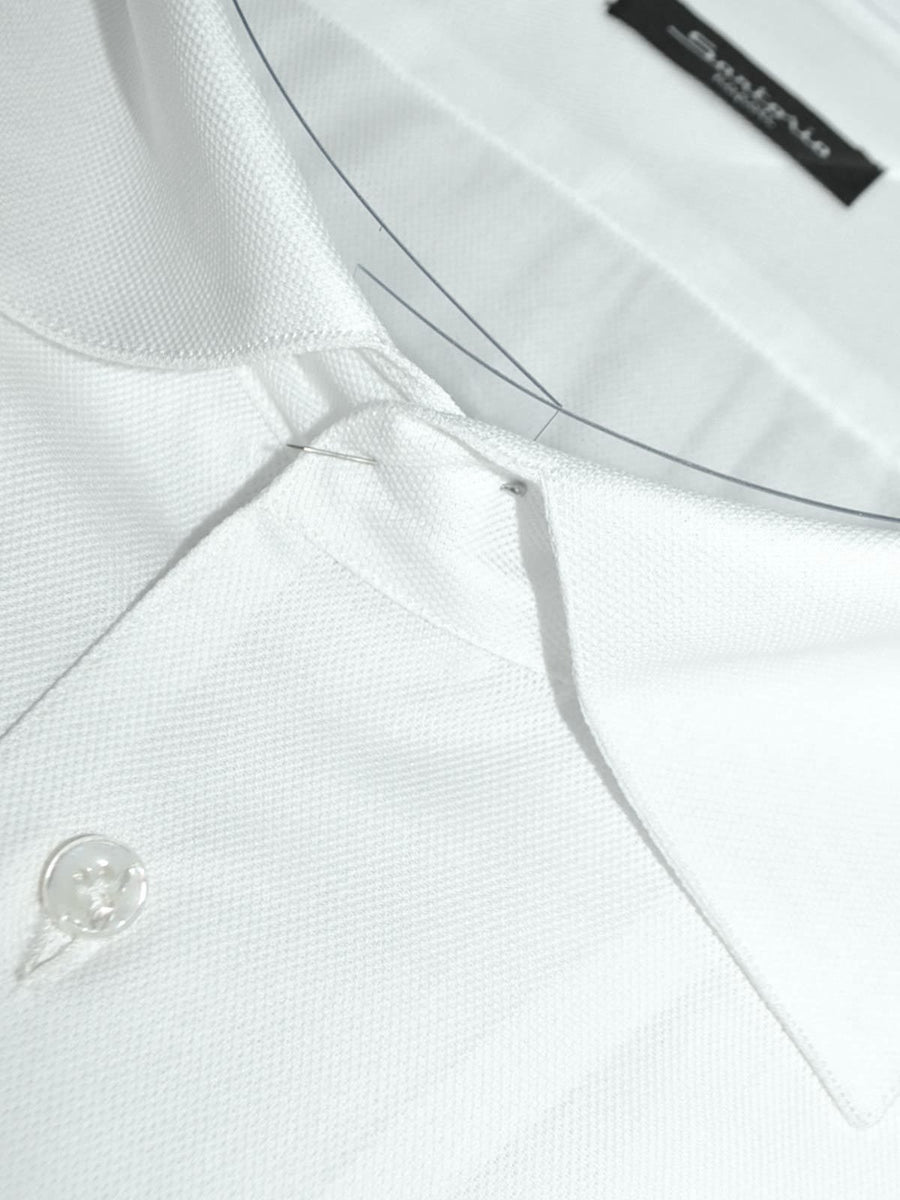 Sartorio Dress Shirt White 45 - 18