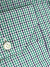 Sartorio Shirt White Green Navy Tatterstall