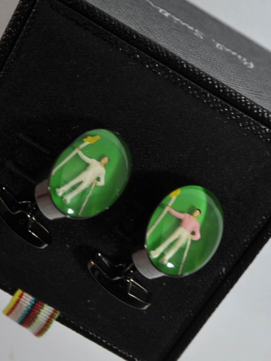 Paul Smith Cufflinks Golf Design