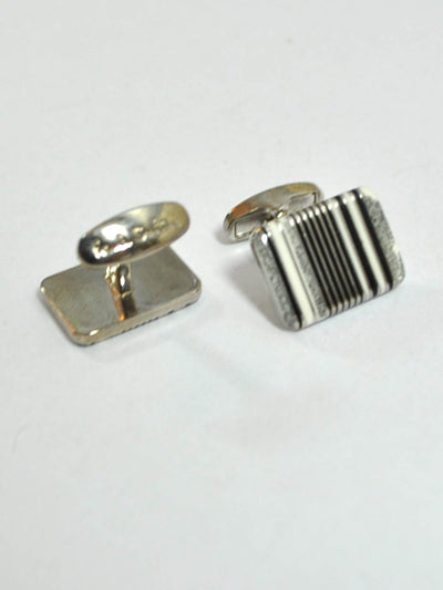 Paul Smith Cufflinks Black Stripes