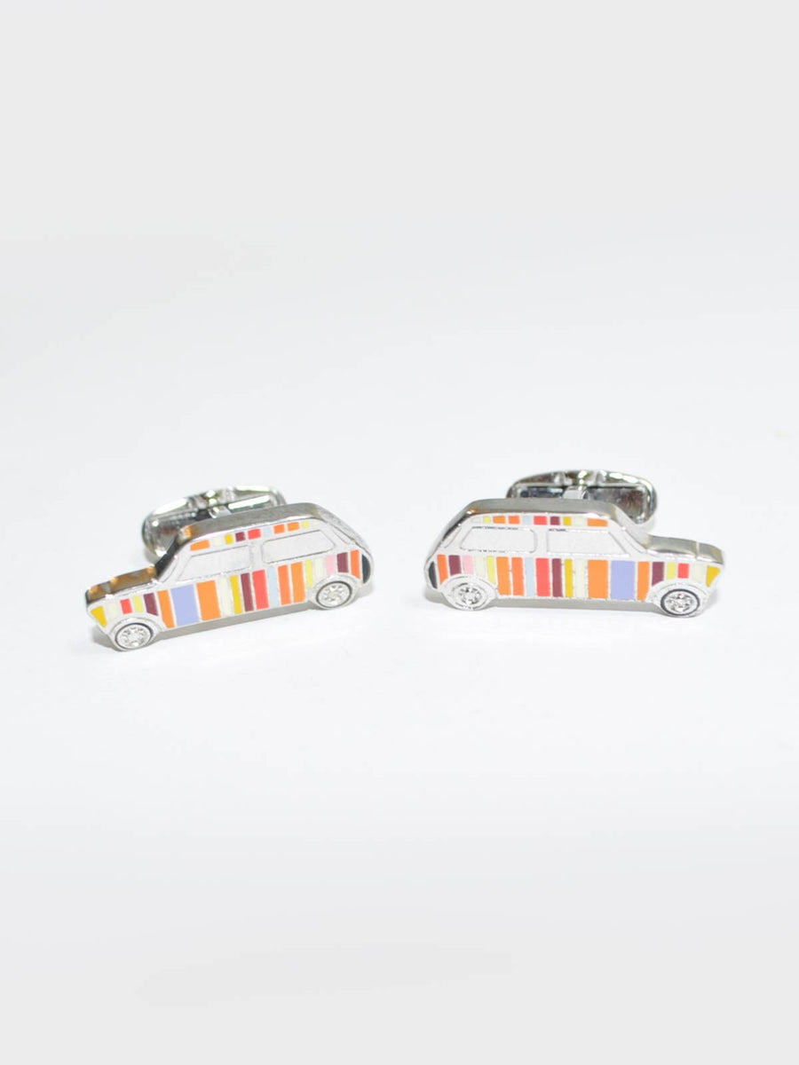 Paul Smith Cufflinks Mini Cooper Car Design