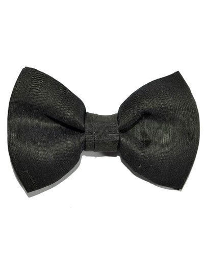 Tom Ford Bow Tie Linen Silk Brown Black