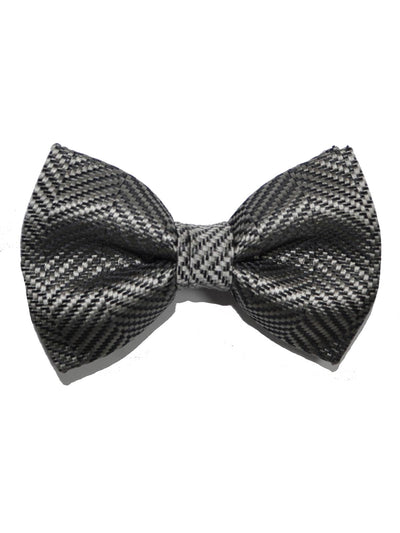 Tom Ford Silk Bow Tie Gray