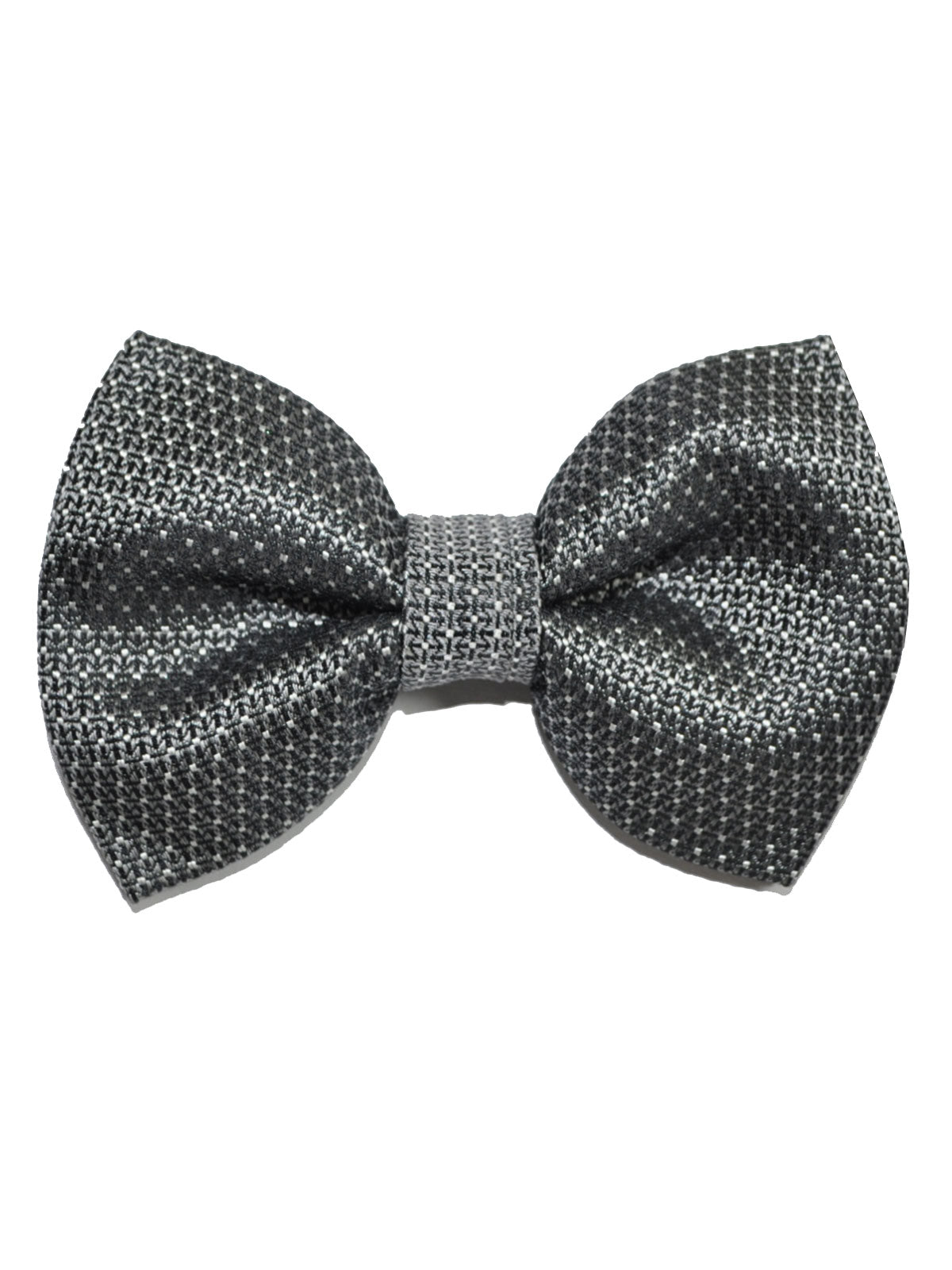 46d2ae86cd66 Tom Ford Silk Bow Tie Charcoal Gray Silver Mini Dots - Tie Deals