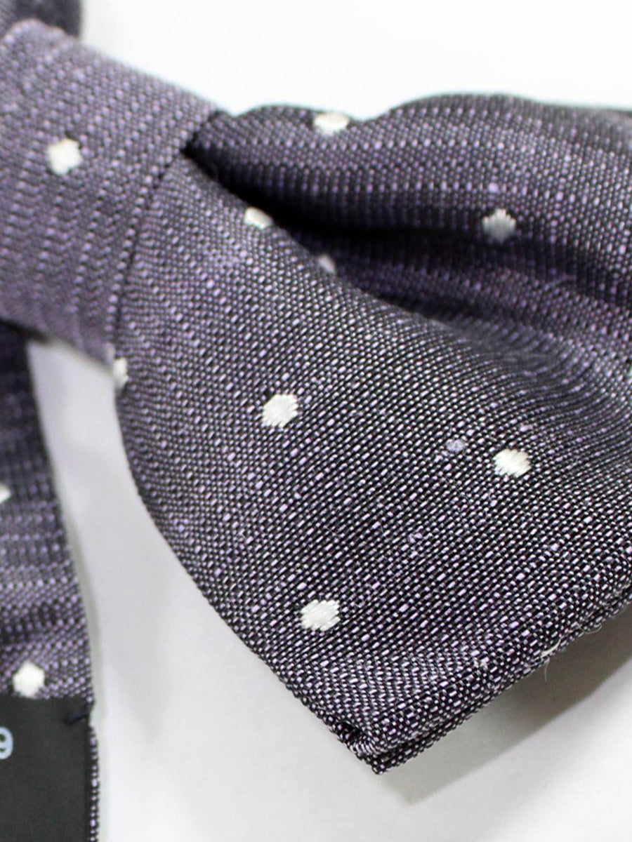 Tom Ford Bow Tie Black Pink-Lavender Dots