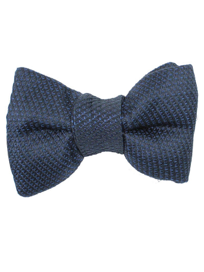 Tom Ford Bow Tie Midnight Blue Design Cotton Silk