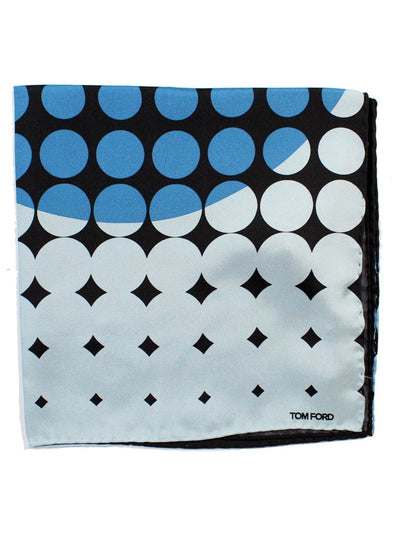 Tom Ford Pocket Square Dots Geometric