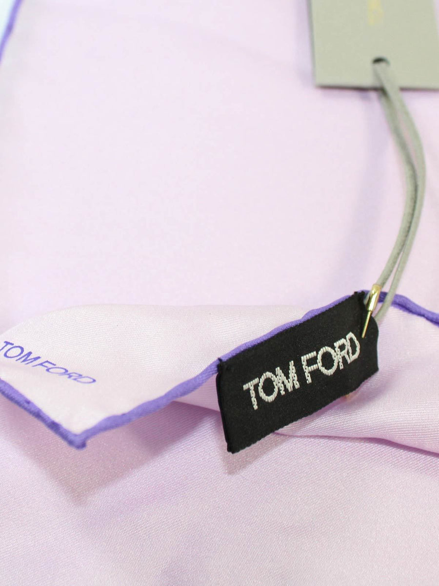 Tom Ford Pocket Square Lilac Pink