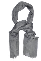 Tom Ford Scarf Gray Silk Shawl