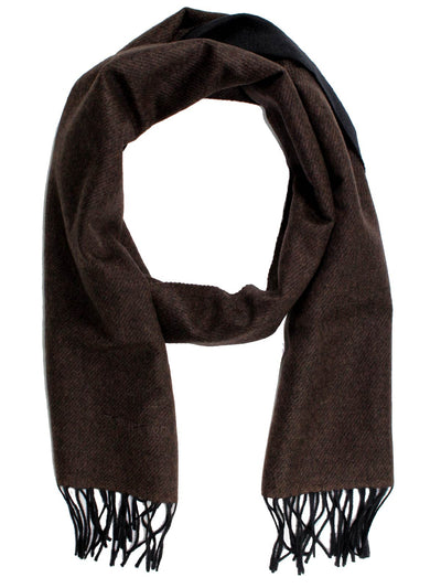 Tom Ford Cashmere Scarf Solid Black Brown