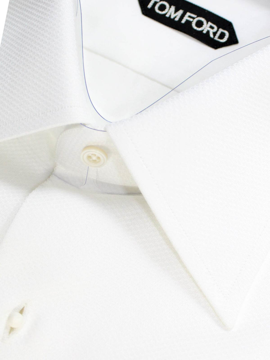 Tom Ford Tuxedo Shirt White Evening Shirt