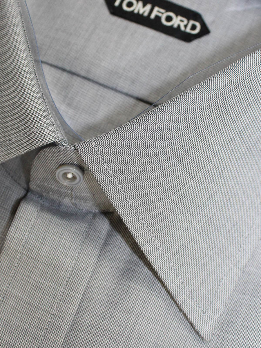 Men Collection Tom Ford Dress Shirt Gray