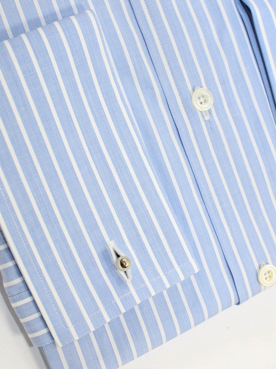 Tom Ford Dress Shirt Blue White