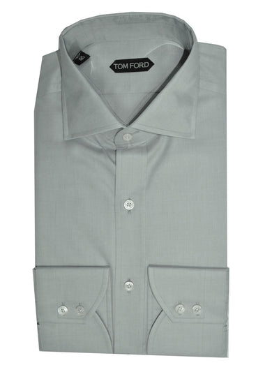 Tom Ford Dress Shirt Gray 42 - 16 1/2