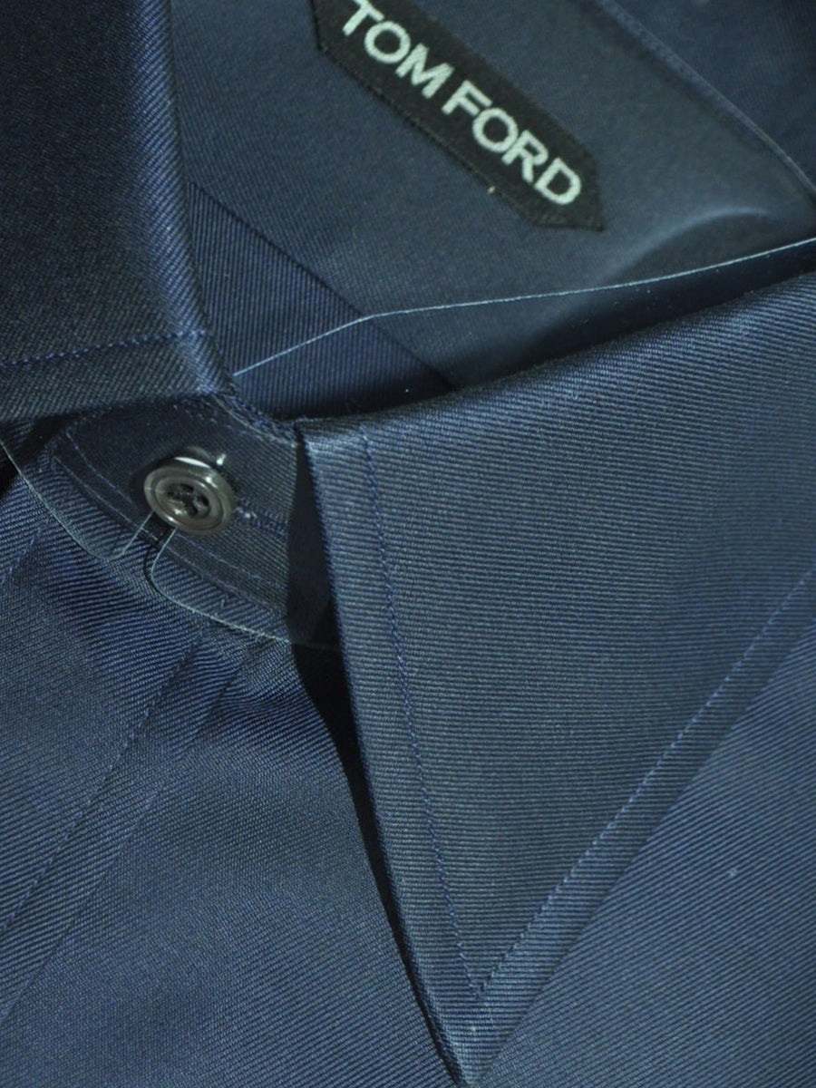 Tom Ford Dress Shirt Dark Blue 40 - 15 3/4