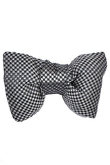 Tom Ford Bow Tie Gray Black Dots